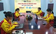 Tuyển cờ vua Việt Nam 'hết cửa' ở Giải Olympiad Online