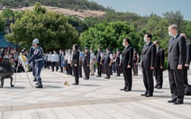 Đài Loan tưởng niệm 62 năm vụ Trung Quốc pháo kích Kim Môn