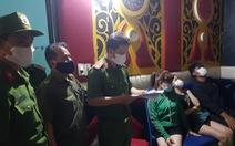 Giữa mùa dịch, quán karaoke đón khách vào hát, dương tính với ma túy