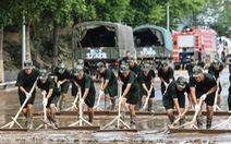 Chùm ảnh hậu lũ lụt lịch sử ở Trùng Khánh