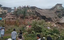 Ít nhất 90 người mắc kẹt khi chung cư 5 tầng ở Ấn Độ đổ sập