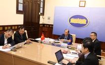 Hàn Quốc đề xuất tạo điều kiện đi lại với ASEAN, đề cao luật pháp quốc tế ở Biển Đông