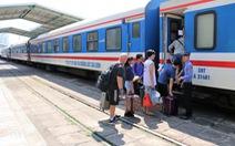 Mở thêm 2 đôi tàu tuyến TP.HCM - Nha Trang dịp Quốc khánh 2-9