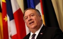 Ông Pompeo: Mỹ không cho phép Trung Quốc bắt nạt các nước Đông Nam Á ở Biển Đông