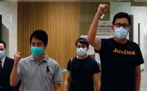 Hai nhà lập pháp Hong Kong liên quan biểu tình được tại ngoại