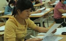 Môn văn chỉ có 2 điểm 10, một thí sinh ở Nam Định có bài thi dài 12 trang