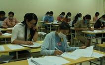 Kết quả đối sánh điểm thi và điểm học bạ: chênh lệch lớn nhất là 1,7
