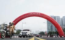 Hà Nội thông xe cầu vượt 560 tỉ đồng