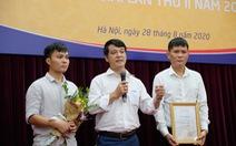 Báo Tuổi Trẻ đoạt giải nhất báo chí viết về ngành giao thông vận tải
