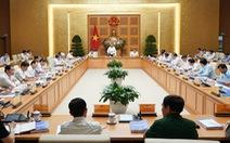 Thủ tướng: Duy trì tăng trưởng dương, xác định đột phá chiến lược trong tình hình mới