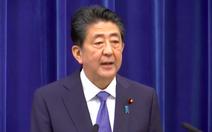 Thủ tướng Nhật Shinzo Abe tuyên bố từ chức: 'Tôi xin lỗi người dân từ tận đáy lòng'