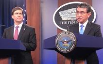 Mỹ - Nhật đồng thanh: 'Phản đối thay đổi hiện trạng ở Biển Đông bằng vũ lực'