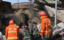 Đang ăn tiệc, nhà hàng bị sập, 17 người chết ở Trung Quốc