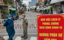 Biên Hòa cách ly tuyến đường có 900 nhân khẩu gần nhà bệnh nhân 595