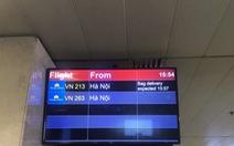 Sẽ thông báo thời gian trả hành lý khi kết thúc chuyến bay