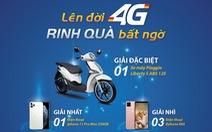 Mobifone: Lên đời 4G, rinh quà bất ngờ