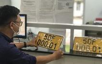 Cấp đổi biển số vàng cho xe vận tải còn vướng quy định