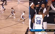 Cú ném 3 điểm khó tin từ sân nhà của cầu thủ ở Giải NBA