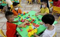 Sau một ngày tạm ngưng, Đồng Nai cho trẻ mầm non đi học trở lại