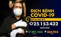 Dịch COVID-19 ngày 30-8: 300 người biểu tình chống biện pháp ngăn COVID-19 bị bắt