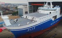Trung Quốc hạ thủy tàu khảo sát 'khủng', 2 tháng không cần tiếp nhiên liệu