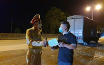 Huế dỡ bỏ kiểm soát COVID-19 người và xe từ Quảng Ngãi, Đắk Lắk, Quảng Trị