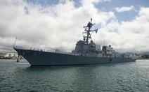Tàu chiến Mỹ quá cảnh ở eo biển Đài Loan lần 2 trong tuần