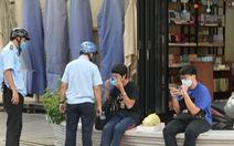 TP.HCM đã xử phạt nhiều người không đeo khẩu trang hơn nửa tỉ đồng