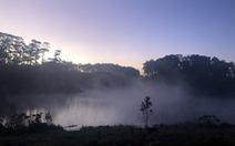 Bình minh mát lạnh như mùa xuân giữa núi rừng Phi Liêng
