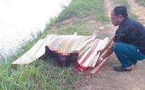 Điều tra vụ thi thể một phụ nữ gần như lõa thể dưới kênh thủy lợi