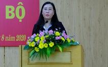 Bà Bùi Thị Quỳnh Vân giữ chức bí thư Tỉnh ủy Quảng Ngãi