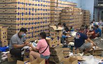Phá đường dây 'khủng' sản xuất găng tay y tế giả tại TP.HCM