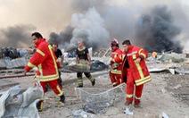 Một người Việt Nam bị thương trong vụ nổ kinh hoàng ở Lebanon