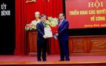 Bí thư Quảng Bình làm Phó ban Tổ chức Trung ương