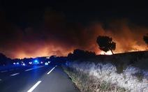 1.200 lính cứu hỏa trắng đêm chữa cháy rừng miền đông nam nước Pháp
