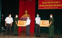 Lô thuốc điều trị SARS-CoV-2 đã tới Đà Nẵng và Quảng Nam