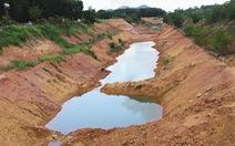 Điều tra vụ kênh thủy lợi hơn 750 tỉ đồng nứt toác