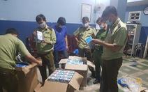 Bắt giữ gần 1.500 hộp khẩu trang y tế chuẩn bị 'tuồn' sang Campuchia