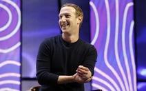 Tài sản của ông chủ Facebook vượt 100 tỉ USD