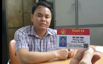 Thách thức CSGT khi vi phạm, tài xế công ty lộ ra thẻ nhà báo dỏm