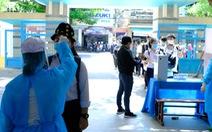 352 thí sinh của một trường học tại Quảng Ngãi phải dừng thi vì COVID-19