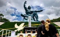 Nagasaki tổ chức tưởng niệm 75 năm thảm họa bom nguyên tử