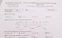 Mời bạn đọc xem đề toán thi tốt nghiệp THPT 2020
