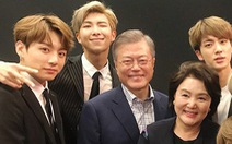 Tổng thống Hàn Quốc ca ngợi BTS 'làm nên lịch sử' khi thành quán quân Billboard