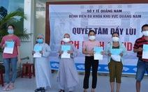 Hai sư cô tái dương tính COVID-19 được xuất viện, Quảng Nam chỉ còn 2 ca điều trị
