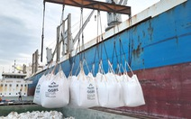 Lần đầu tiên xuất khẩu phụ gia từ sản xuất thép cho xi măng