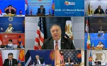 Ông Pompeo thúc các nước ASEAN không làm ăn với công ty Trung Quốc xây đảo nhân tạo