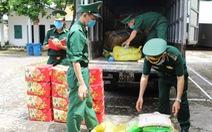 Cả tấn thực phẩm chay không nguồn gốc tuồn từ Trung Quốc vào Móng Cái