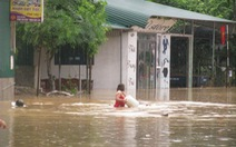 Mưa lũ tạo ra hố sụt rộng gần 40m, sâu khoảng 20m tại Hà Giang