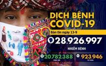 Dịch COVID-19 ngày 13-9: Pháp ghi nhận hơn 10.000 ca nhiễm trong ngày